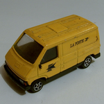 CORGI JUNIORS Renault Trafic in French LA POSTE Livery Diecast model car extra detail @SOLD@